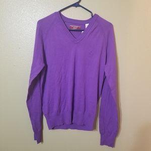 Original Penguin deep lavender sweater size M